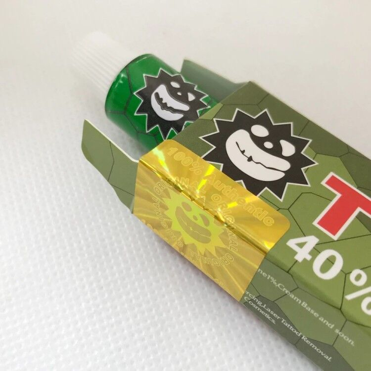 10g 40% green tktx Tattoo Cream for Permanent makeup beauty Body Eyebrow Eyeliner Lips