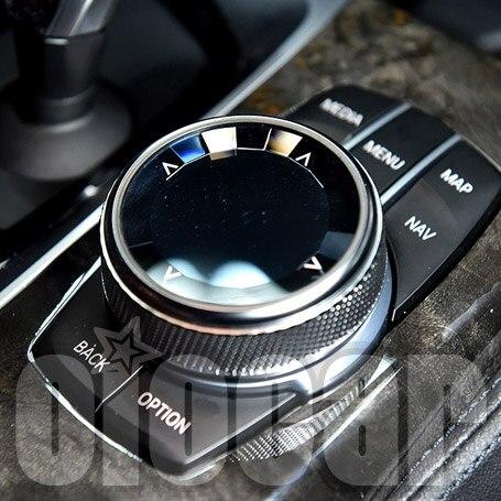 De cristal de lujo de iDriver botón para BMW F chasis y G chasis F20 F22 F30 F10 F07 F12 F15 X5 F16 X6 G20 G30 G01 G02 G05 G06 G12