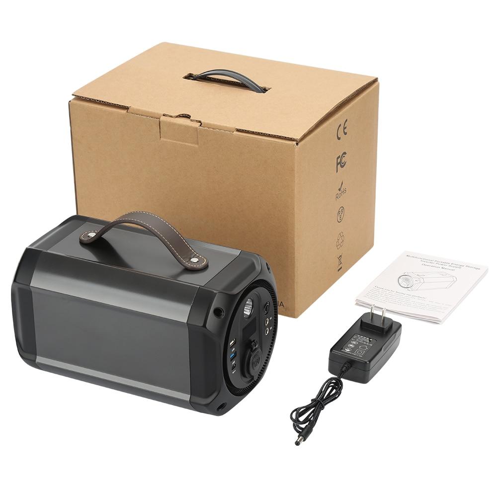 GKFLY 300W 110V Power Station Lithium Battery PD DC AC Type-C For Outdoors Portable Generator Emergency Backup Supply 110V 220V enlarge