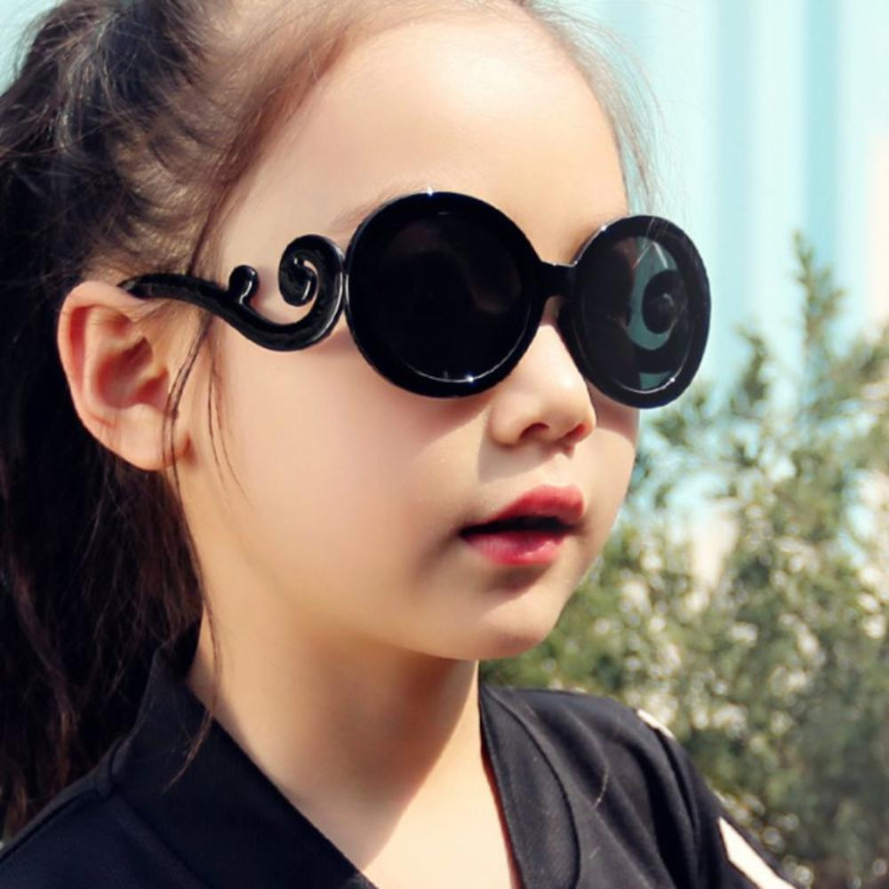 Children Sunglasses Cute Radiation protection Sunglasses UV400 silicone Sport Sun Glasses For Baby G