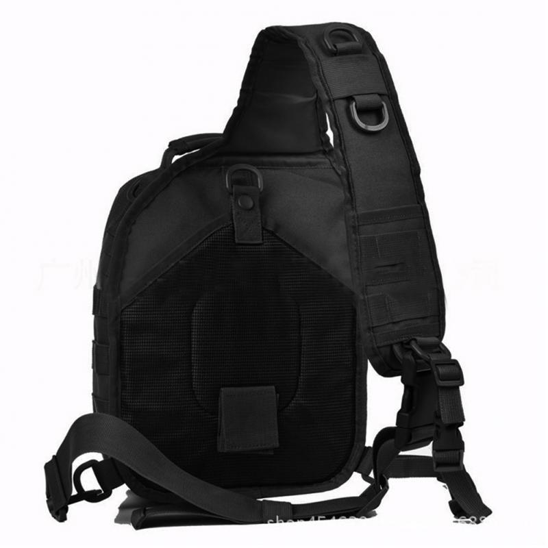 Grande capacidade casual sacos crossbody ajustável único ombro estilingue saco oxford militar ao ar livre assalto tático transportar sacos