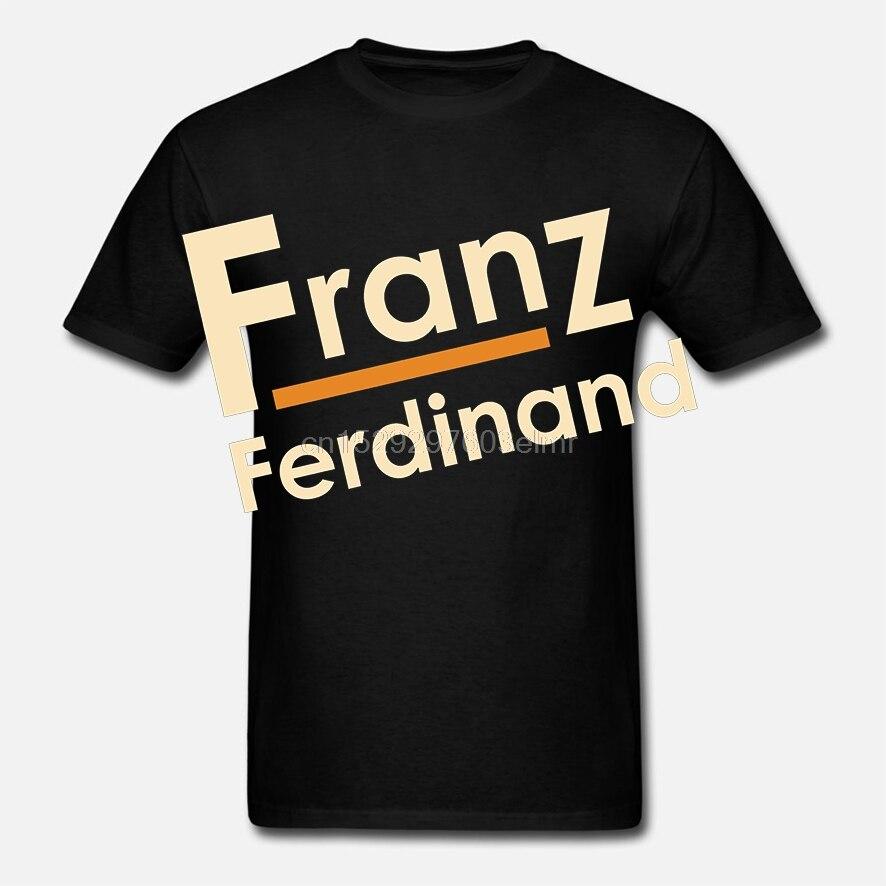 Camiseta divertida para hombre, camiseta blanca, camiseta negra, nueva camiseta de banda de Rock independiente, para hombre, de Franny Ferdinand