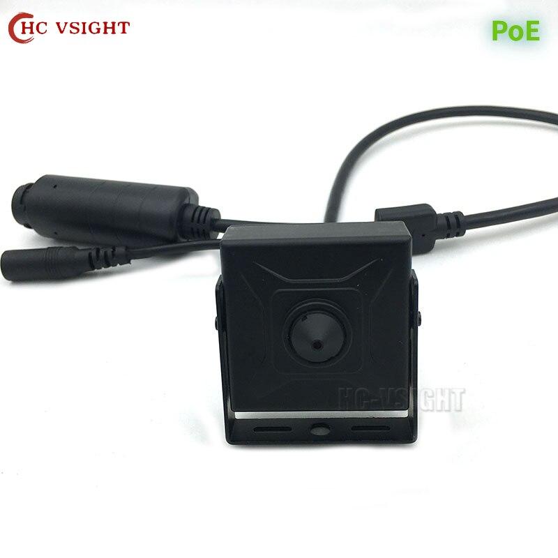 2 Мп, 3 Мп, 5 МП, H.265, мини-камера безопасности для помещений, металлическая ONVIF IP, система видеонаблюдения, P2P