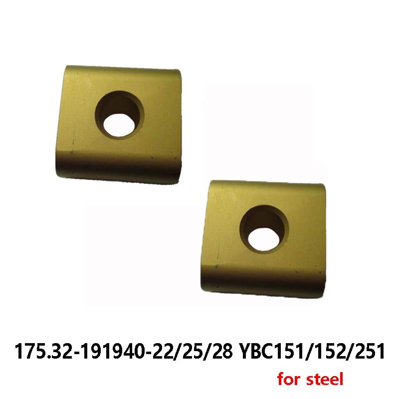 ZCCCT Original 175,32-191940-22 25 175,32-191940-28 YBC151 YBC152 YBC251 para insertos de carburo de acero, herramienta de torneado, cortador CNC