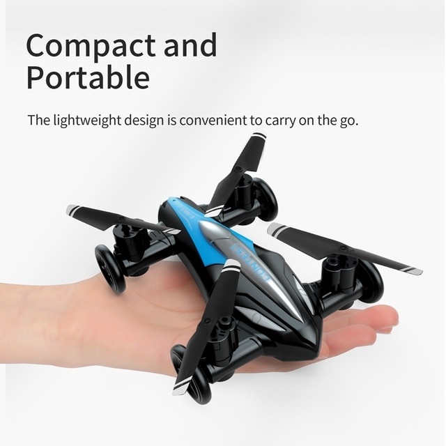 Eachine D85 2in1 Dron Air-Ground Flying Car 2.4G Dual Mode Racing Mini Drone Professional RC Car Quadcopter Drones Children Toys 2