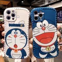 doraemon cute jingle cat phone case for couples fall resistant phone case for iphone 12 12p11 pro max12 promax11