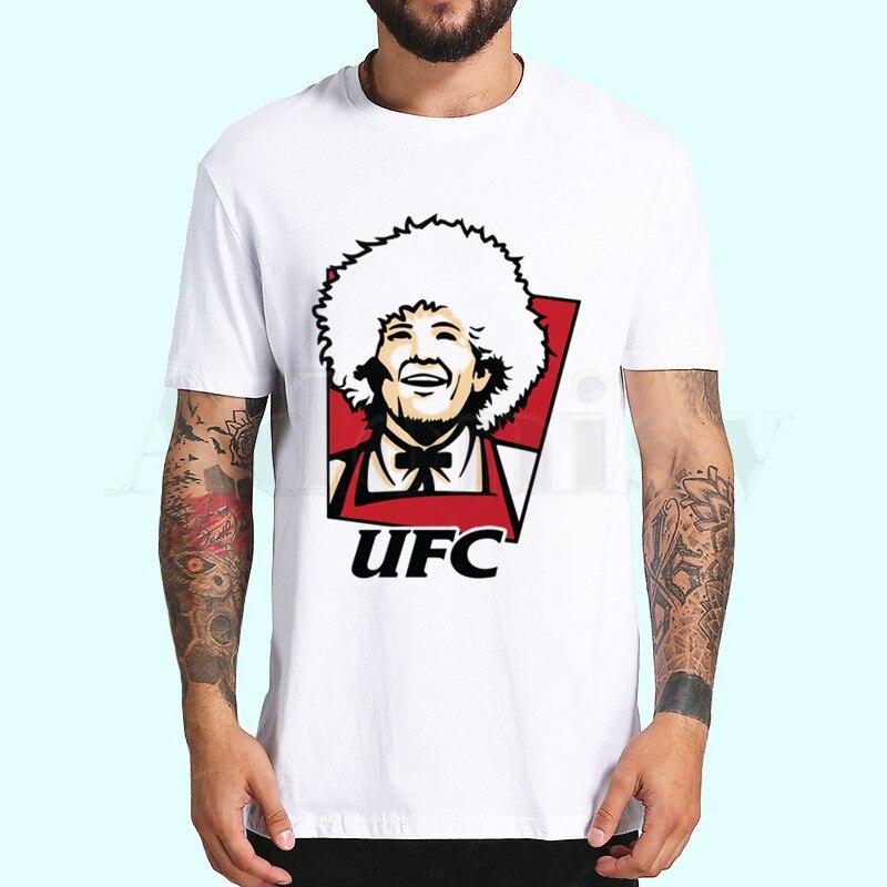 Khabib nurmagomedov t camisas de moda masculina e feminina topos camiseta de manga curta unisex tshirt