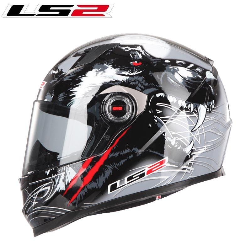 Casco de Moto LS2 FF358 de cara completa para moto de carreras Casco rcross capacete ls2 Casco Jet ECE Casco Moto