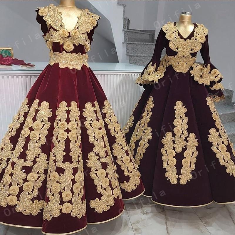 فساتين سهرة طويلة من قفطان كوسوفو 2021 عربية دبي نسائية ذهبية دانتيل للحفلات الرسمية للسيدات فساتين Vestidos De Novia جديدة