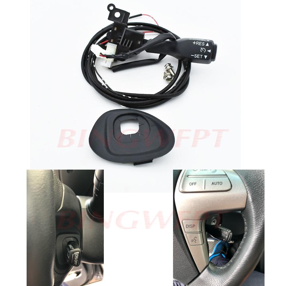 Interruptor de Control de crucero Original para Toyota Corolla Verso Auris, Yaris Hybrid Avensis 84632-0F010 45186-06210-E0 90159-50199