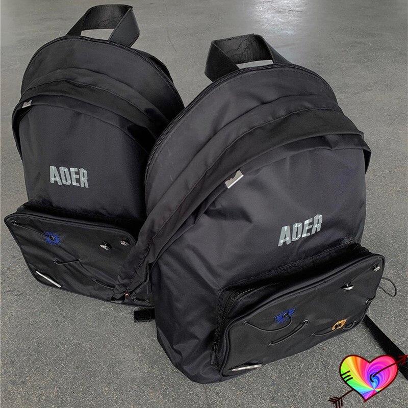 حقائب ظهر من ADER طراز 2021 للرجال والنساء 1:1 ملصق عالي الجودة بعلامة على الحروف حقائب خارجية متينة قابلة للتعديل