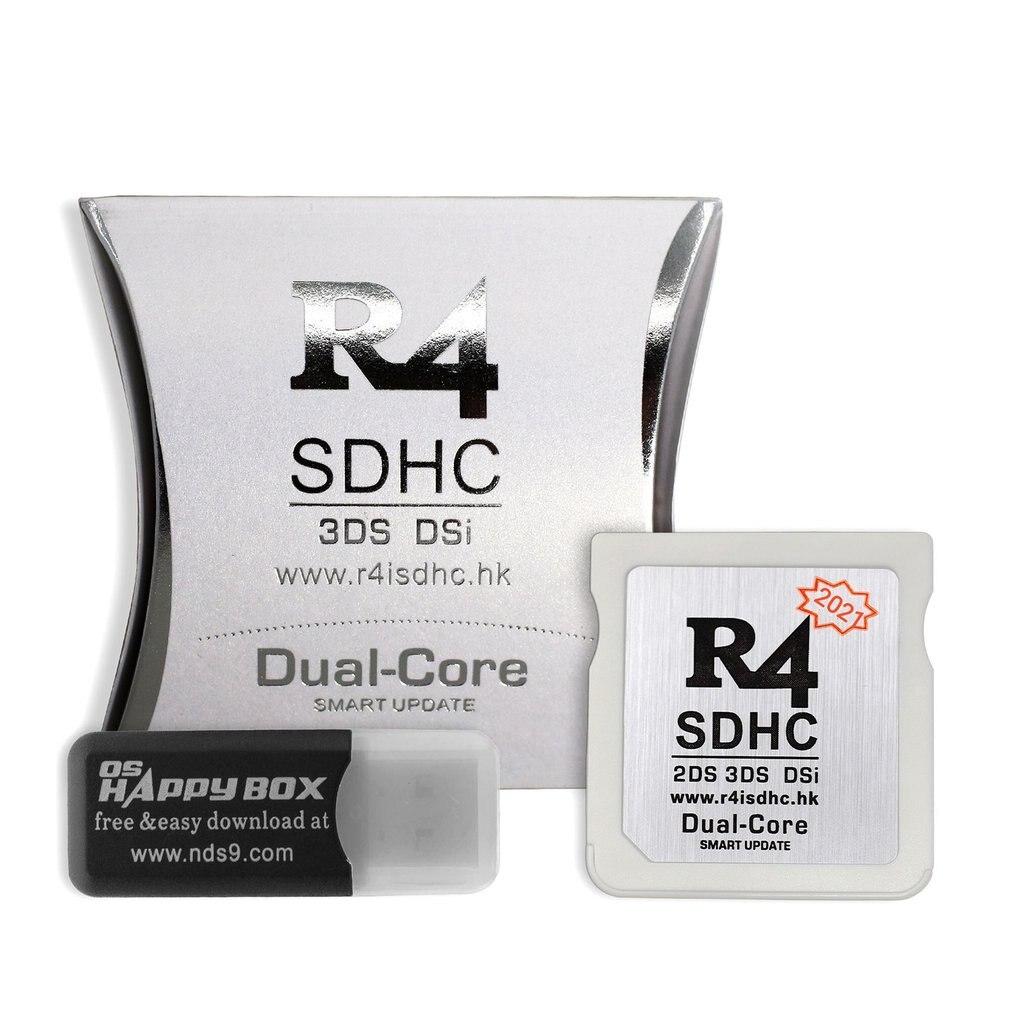 Адаптер R4 SDHC, безопасная цифровая карта памяти, карта сжигания, игровая карта, карта фонарика, прочный материал, компактная и портативная ка...