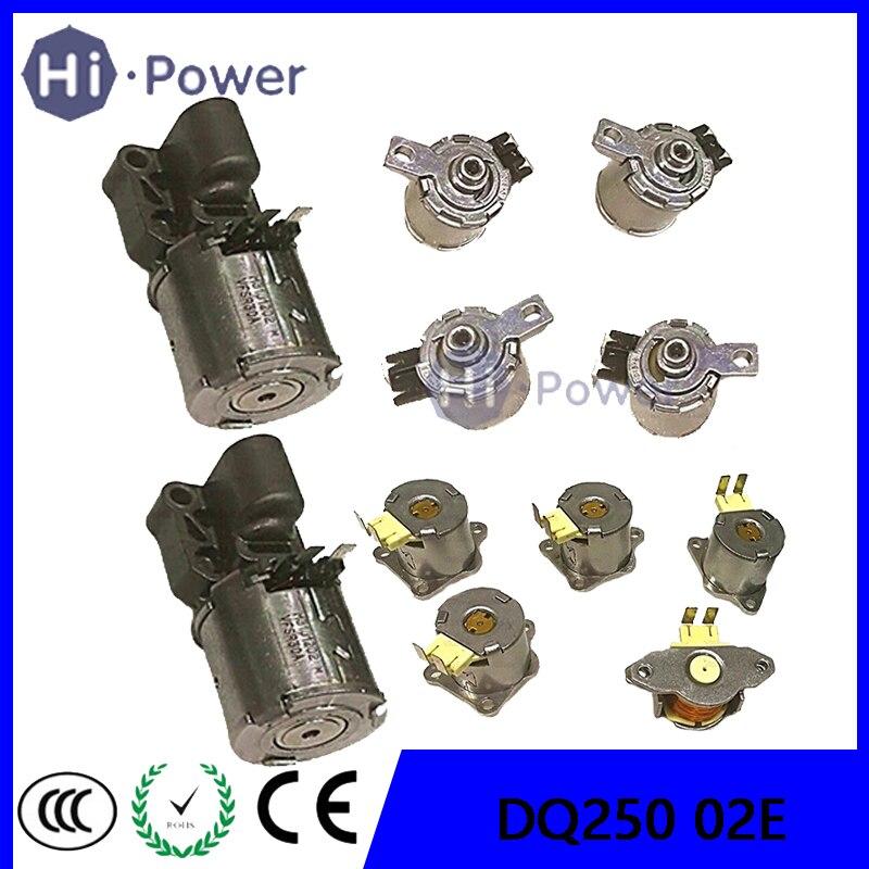 Válvula de cambio de transmisión OEM DQ250 02E DSG, solenoides 100% para Audi A3 Q3 TT Skoda para Volkswagen Beetle Touran Sharan