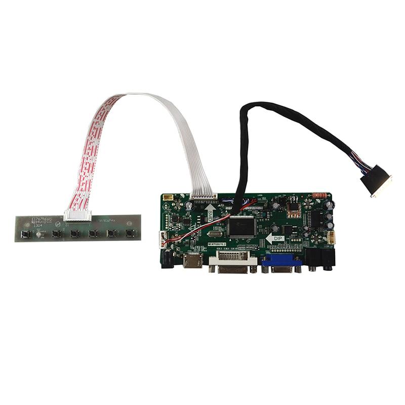 M.NT68676.2A Universal HDMI VGA DVI Audio LCD لوحة تحكم لـ 14 بوصة 1600x900 B140RW01 LED مجموعة الشاشة