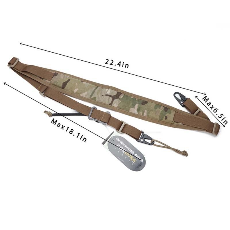 Ao ar livre nova caça tático tw mk2 rápida ajustável sling cinta 2 pontos alça de ombro suspensórios sling