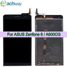 """6.0 """"LCD Display Für Asus Zenfone 6 A600CG Touchscreen Digitizer Montage Mit Rahmen Ersatz Für Asus A601CG T00G LCD Bildschirm"""