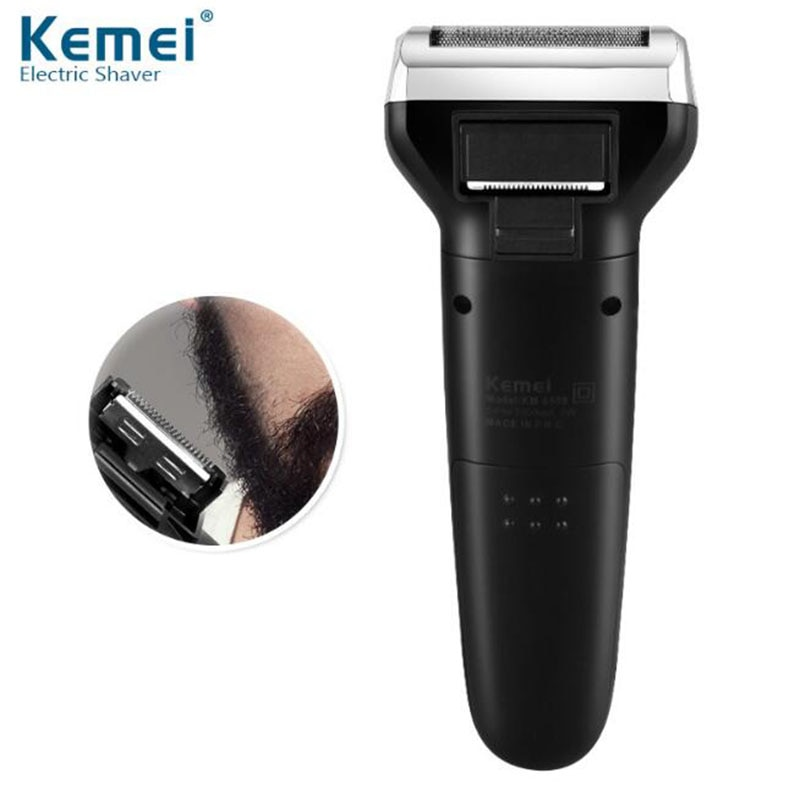 Kemei KM-6559 Hair Trimmer For Men 3 In 1 Electric Shaver USB Nose Hair Trimer Rechargeable Hair Clipper enlarge
