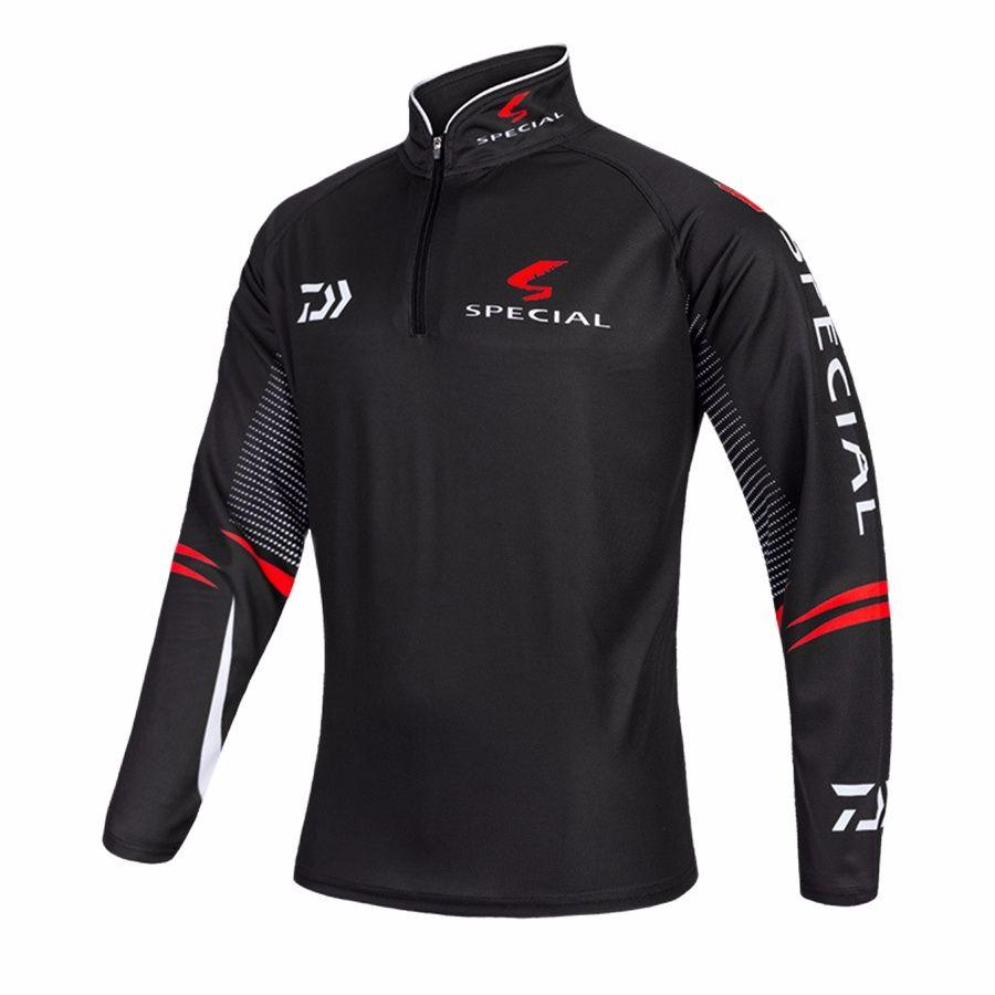 XS-6XL Anti-UV Protection Fishing Shirt Fishing Clothing Jersey Fishing Tackles Outdoor Sportswear Sports Apparel 73-3