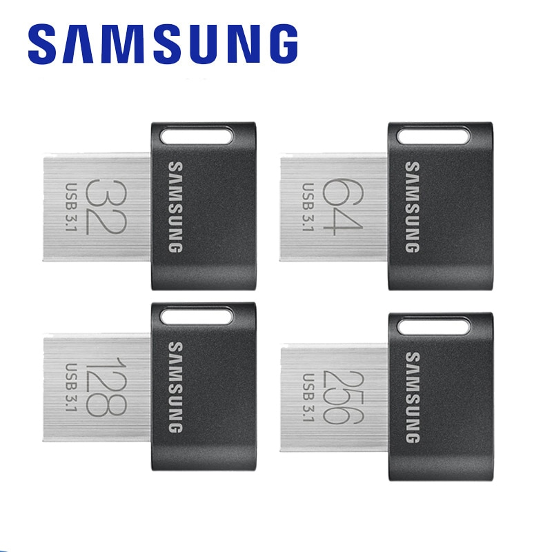SAMSUNG nuevo USB 3,0 Flash Drive 32GB 64GB 200 M/s Pendrive Metal...