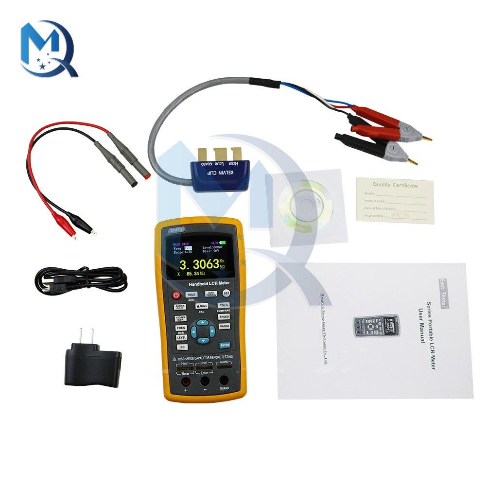 ET430 ET431 ET432 ET433 High Precision Capacitance Inductance Resistance Meter Tester Multifunction Handheld LCR Digital Bridge