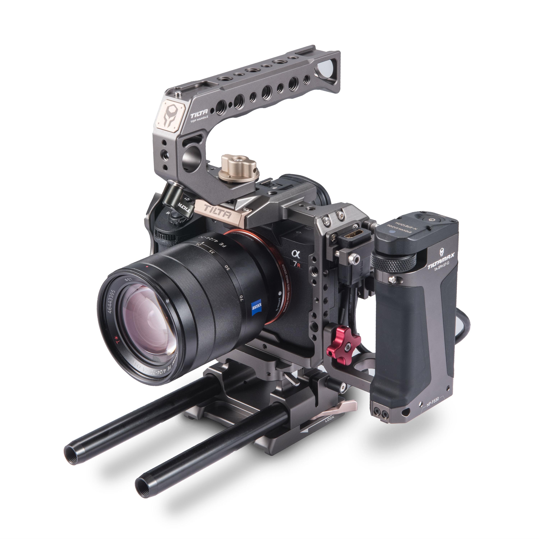 Tiltaing a7/a9 Série gaiola + Alça Foco Kit C Nova Versão-Tilta Cinza TA-T17-C-G para A7 A9 a7III A7R3 A7M3 A7S3 Series Camera