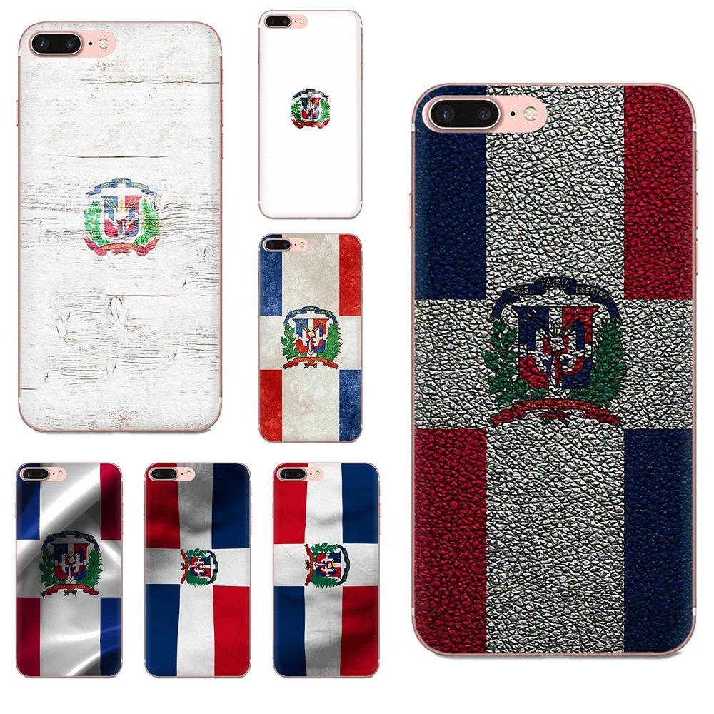 Bolsa bandera República Dominicana para HTC deseo 530, 626, 628, 630, 816, 820, 830 A9 M7 M8 M9 M10 E9 U11 U12 Vida Plus TPU bien mejor