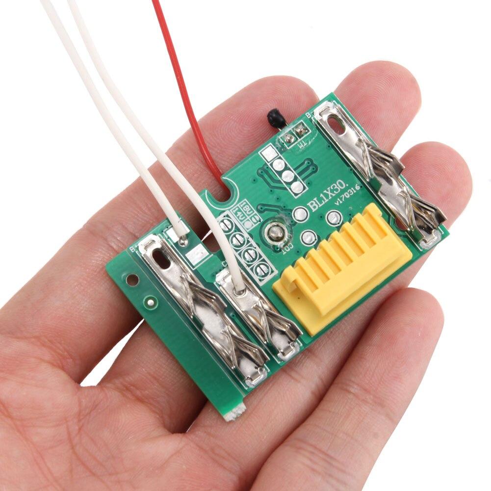 18V batería PCB Junta de Protección de carga reemplazo Compatible Makita BL1830 BL1840 BL1850 PR venta