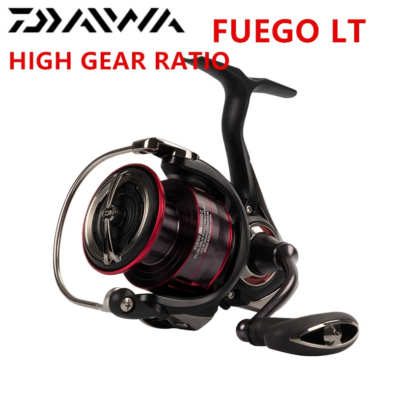 original Daiwa Fuego LT 1000D-XH 2000D-XH 2500XH 3000-CXH 4000D-CXH 5000D-CXH 6000D-H spinning fishing  reel  High Gear ratio