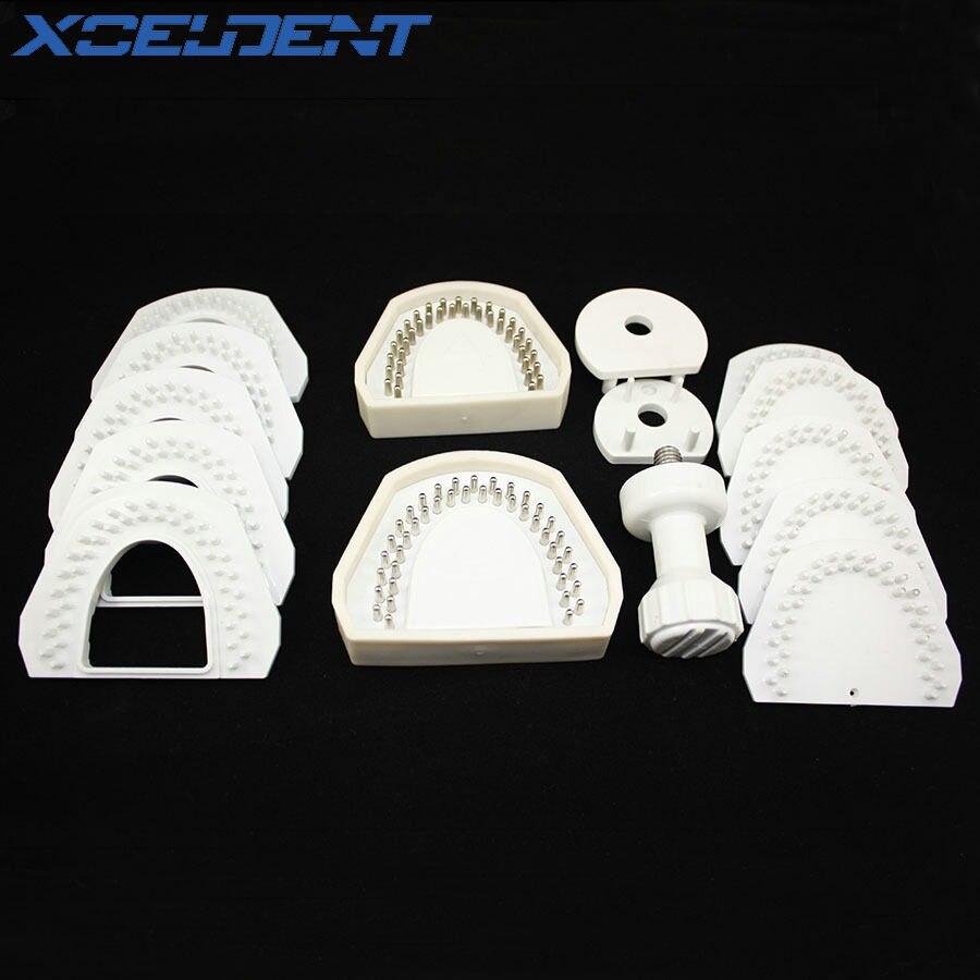 1 Set Dental Lab Model System for Laser Pin Machine Equipment Tool On Plaster Model Work Dentistry I