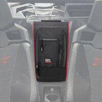 KEMiMOTO Marverick X3 Between Seats 1680D Waterproof Center Console Storage Bag for Can am Maverick X3 2017 2018 2019 2020 2021