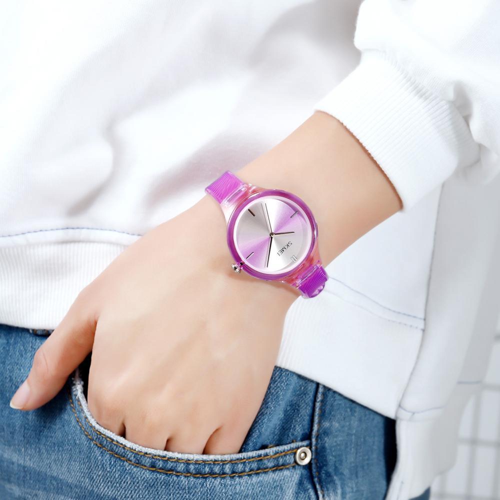 2020 SKMEI Top Brand Fashion Ladies Quartz Watches Dress Clock Simple Female Women Wristwatch Relogio Feminino montre femme 1714 enlarge