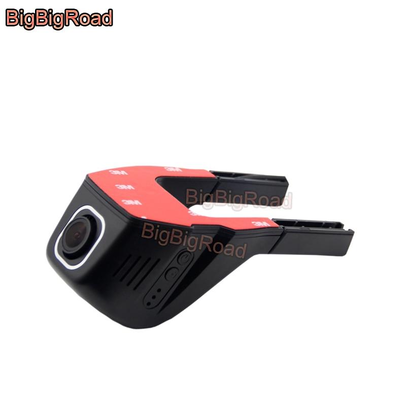 BigBigRoad Car Video Recorder Dash Cam Camera Wifi DVR For Nissan Tiida Sylphy Sunny Qashqai Pathfinder Navara Quest 350Z 370Z