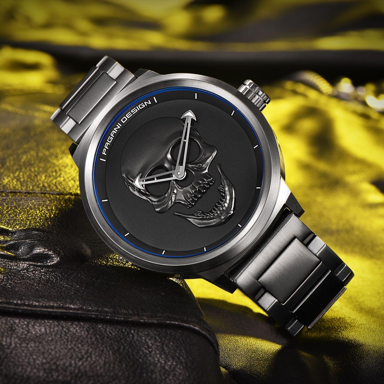 2021 New Pagani Design Military Watch Men's Luxury Quartz Watch Stainless Steel Automatic Waterproof Clock Men Personality Watch enlarge