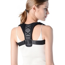 Cuerpo almohada médico clavícula Corrector de postura adultos niños espalda apoyo cinturón corsé ortopédico hombro correcto