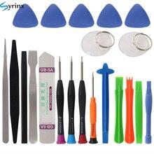 21 в 1 мобильный телефон набор инструментов для ремонта Spudger Pry инструмент для открытия отвертка Набор для iPhone X 8 7 6S 6 Plus 11 Pro XS ручные инструменты