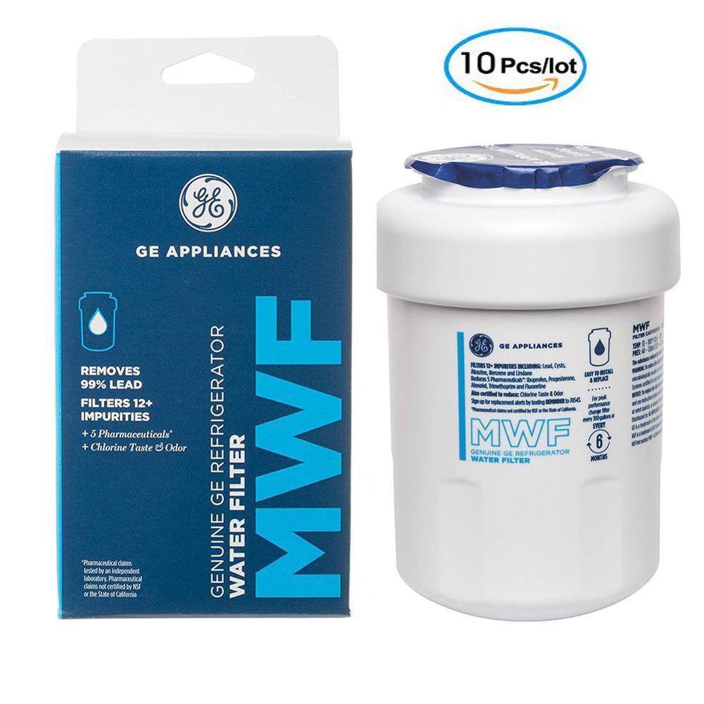 Gphi MWF-فلتر مياه للثلاجة ، مجموعة من 10 قطع ، GE Smartwater MWFP