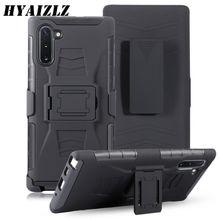 Note 10 + armure étui pour Galaxy S20 Ultra 8 9 S10 S8 S9 Plus S7 bord support couverture robuste protection ceinture pince S10 lite Capa