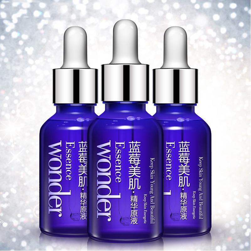 Ácido líquido envejecimiento cuidado puro arándano esencia facial BIOAQUA hialurónico arrugas