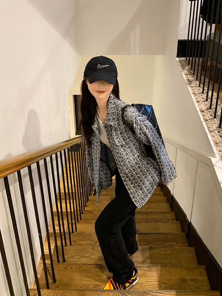 Jacket Women Spring And Autumn 2021 New Style Early Autumn Loose Top Casual All-match Trendy Suit