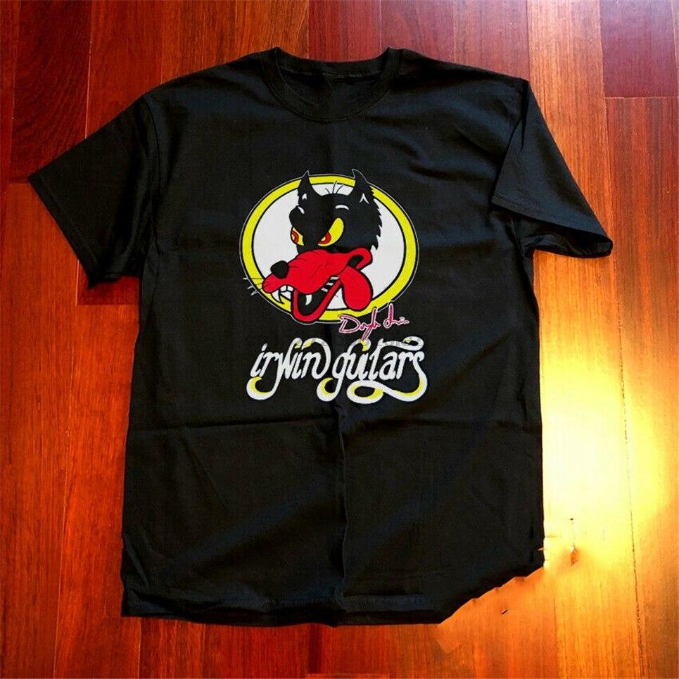 Grateful Dead Co Jerry garca guitarra alambic Wolf concierto negro camiseta ropa camiseta de marca rara