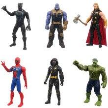 Hasbro Marvel Avengers jouets venin Batman Flash Superman Spiderman Thanos Hulk fer homme Thor figurine modèle jouet pour enfants