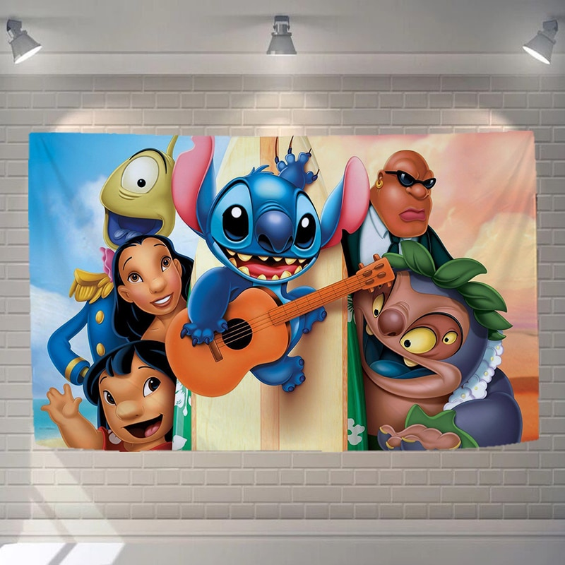 Tapiz de Mandala para pared, tapiz para niños de punto de Disney, tapiz para dormitorio infantil, manta de poliéster con dibujos animados