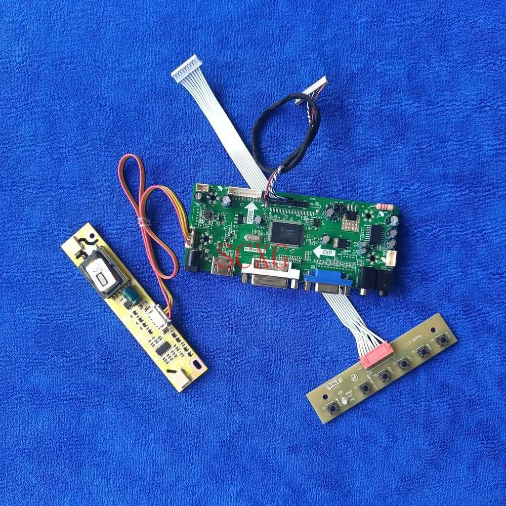 MNT68676 تحكم لوحة للقيادة 1024*768 شاشة الكريستال السائل صالح G150X1/M150X4/M150X5 2CCFL لتقوم بها بنفسك عدة 20 دبوس LVDS HDMI-متوافق DVI VGA