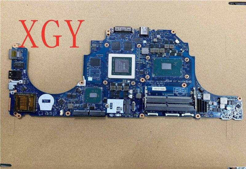 الأصلي لديل 17 R3 اللوحة المحمول 0YHXY4 LA-C912P I7-6700HQ 100% اختبار