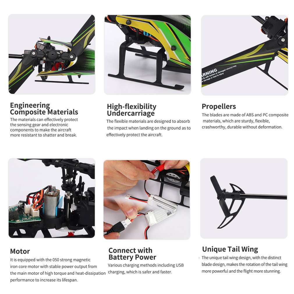 JJRC M05 RC Helicopter Altitude Hold 6Axis 4 Ch 2.4G Remote Control Electronic Aircraft Brush Quadcopter Drone Toys Plane enlarge