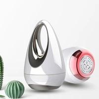 portable microcurrent skin tightening massager mini led photon vibration face lifting device anti wrinkle remover skin care tool
