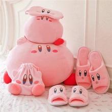Kirby macera Kirby peluş oyuncak yumuşak bebek büyük doldurulmuş hayvanlar oyuncaklar için çocuk doğum günü noel hediyesi ev dekor