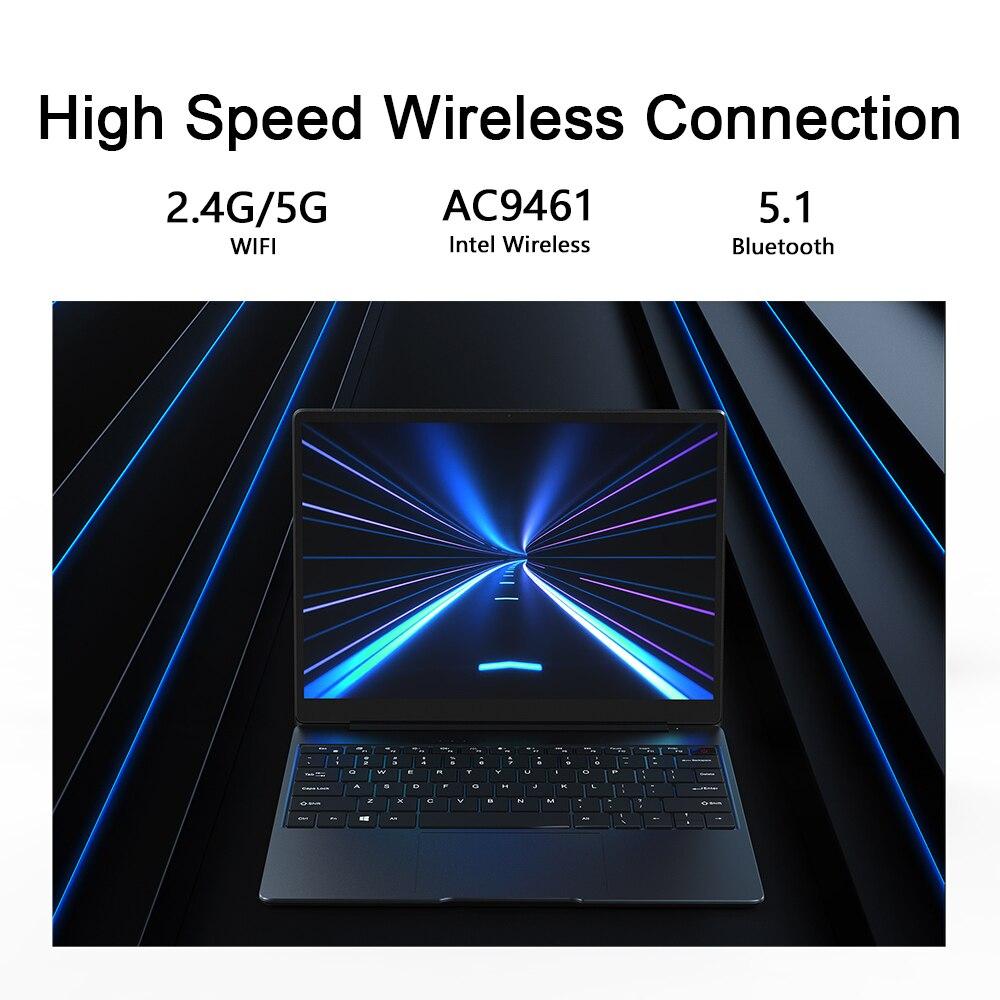 CHUWI GemiBook 13 inch Laptop 12GB RAM 256GB SSD Intel GemiLake J4115 Dual-band Wi-Fi Computer 2160x1440 Windows 10 Notebook