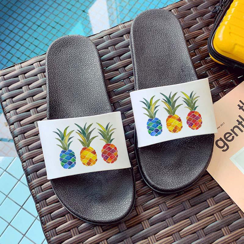 Домашние Тапочки для ванной, женская обувь, Нескользящие домашние тапочки для пола, износостойкие пляжные шлепанцы, Нескользящие домашние ...