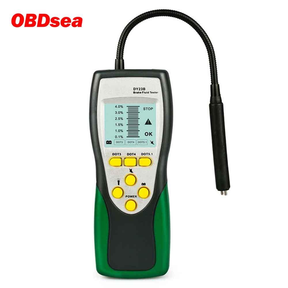 Duoyi DY23/DY23B Automotive Brake Fluid Tester Digital Brake Fluid Inspection Check Car Brake Oil Qu